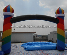 Festival inflatable welcome arch,oxford air entrance gate