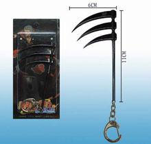 Wholesale Anime Naruto New fashion design hot sale beautiful Gifts Anime Sasuke metal Hidan Charms/Locket/Small Pendant