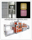 plastic foam food dishes/box/container machine