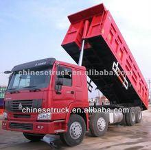 Howo 8 x 4 camion - benne 12 roues 25 cubique à vendre
