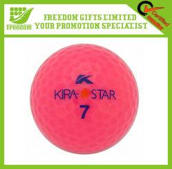 Custom Printed Plastic Golf Practice Ball