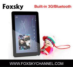 WIFI Bluetooth mini android 4.0.4 allwinner a10 tablet pc
