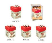 liquid air freshener for car refills original perfumes glass bottle factory