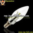 High brightness Samsung 3W LEDs E14 E12 B15 led candle bulb