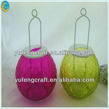 colorful antique lamps oil