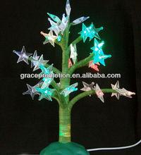 led nature christmas tree