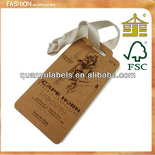 2012 NEW SALE Garment Hang Tags With Fashion Design For Jeans