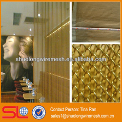 Decorative metal wall drapery for decoration