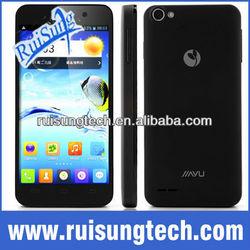 JIAYU G4 Basic Smart Phone MTK6589 Quad Core 1G RAM 4.7 Inch HD IPS Retina Screen Android 4.2 13MP Camera Gyroscope- Black