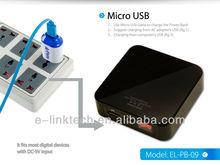 8400mah Universal Portable Rechargeable Backup Power Bank for mobile phone, digital camera, PDA, PSP, MP3, MP4, iPod, DV