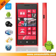 L920 dual sim smart phone 2 camera WIFI capacitive touch screen multi game mobile phone