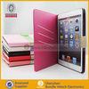 Book leather case for ipad mini , Wallet case for mini ipad