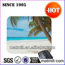 Wonderful beach custom photo mouse pad with Rohs CE