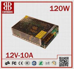 high quality 12v 120W power supply