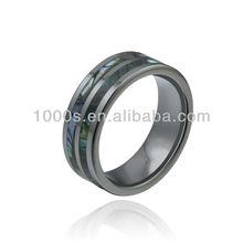 Hot sale men tungsten carbide ring