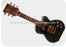 Decorative Aluminium Guitar, Decorative Object, Stage Decoration.