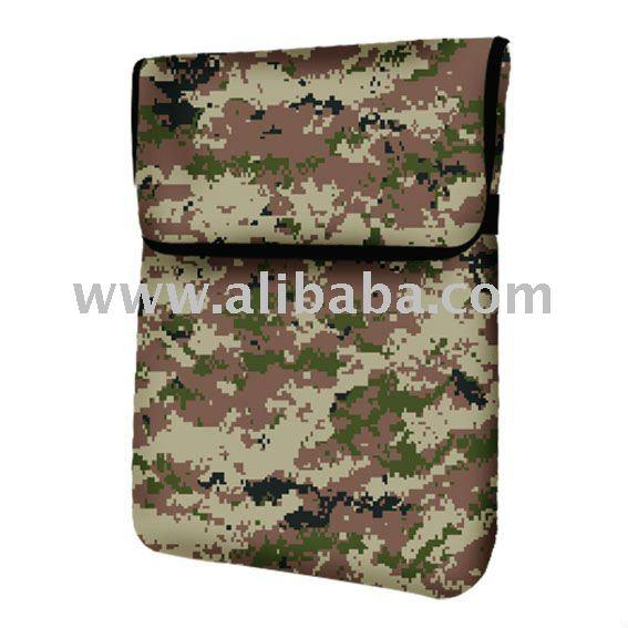 Camouflage Tablet Sleeve for Apple iPad or Samsung Galaxy