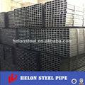 Hot sale 20 x 40 mm estrutural preto praça tubo / tubo