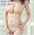 Design especial respirável tamanho up push up bra invisível