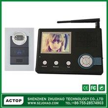 3.5 inch 2.4G Waterproof wireless colour ,unlock,moniter,video recording,photograph industrial intercoms