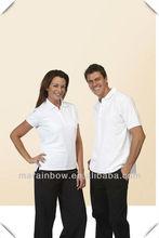 High quality plain design white color Lover POLO shirts