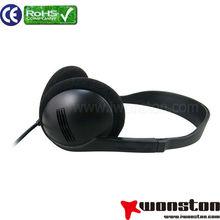 Fashional beautiful cute colored headphone&headphone earmuff&design with customized headphone