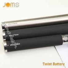 2013 jomo hot selling mini e2 vaporizer ego 650mah black twist 900 1100mah battery