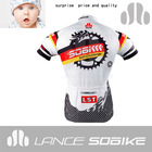 Moisture-wicking,quick dry tandem bicycles vetements de velo custom sublimation cycling jersey
