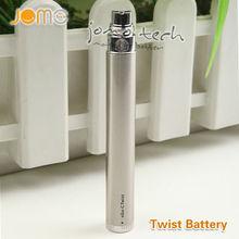 2013 jomo hot selling mini e2 vaporizer ego vv 650mah black variable voltage twist 900 1100mah battery