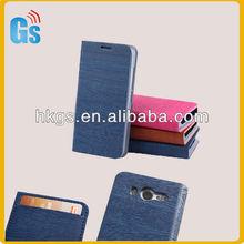 Phone Flip Book Leather Case for LG Optimus L5 II E460