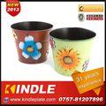 kindle 2013 novo policromos metal vaso de flor pendurado 31 com anos de experiência
