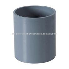 PVC Coupling Gray
