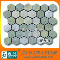 quartz stone mosaic art pattern