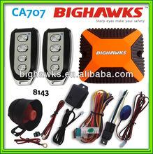 voice auto dialer alarm CA707-8143 BIGHAWKS car alarm system power window singal output raise