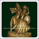 Hot Sale Bronze Radha Krishna