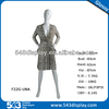 factory price abstract face female plastic mannequin in Guangzhou