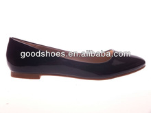Black flat shoe for women formal dress shoe office