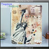 Retro leather PU Smart front cover For the new iPad 4 3 2 MT-1064