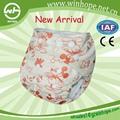 2013! Ajustable reutilizables bebé pañal de tela productos de incontinencia