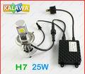 1 Set 25W H7 car fog led big headlight Lamp CREE LED chip Super Bright / White Color / Best quality h7 KALAWA QQQ