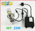 1 Set 25W H7 car fog led big headlight Lamp CREE LED chip Super Bright / White Color / Best quality h7 KALAWA QQQ