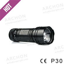 Wholesale AAA Battery Cool White LED Camping Lantern+ Flshlight P30 (CE&RoHS)
