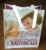 High quality PET nonwoven shopping bag/ R-PET shopping bag