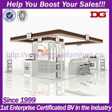 Fashion cosmetic kiosk interior furniture/cosmetic store interior design (DG-TZ02)