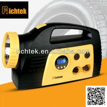 led lights portable battery air compressor inflatable wheel barrow tire in dongguan richtek