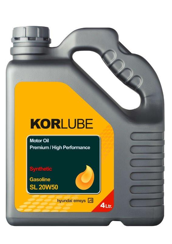 Korlube Engine Oil Gasoline Sl 20w50 Photo Detailed