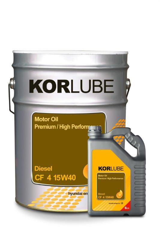 KORLUBE Engine Oil (Diesel : CF-4 15W40)