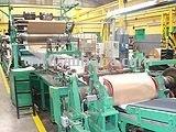 Maquina flexografica para fabricar bolsas de papel multipliego