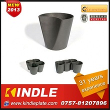 Kindle 2013 New polychrome glass vases for flower arrangements wedding with 31 years experience