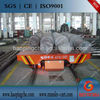 kpc-10t electric plate rail trailer for transporting heavy equipment